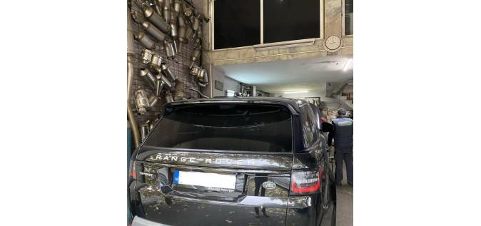 Range Rover Sport Diesel Particulate Filter   Maslak DPF