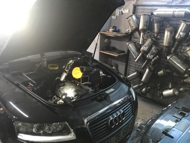 Audi A6 Dizel Partikül Filtre Onarımı