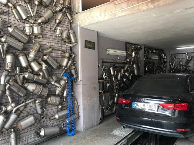 Audi A3 1.6 TDi Dizel Partikül Filtre Onarımı