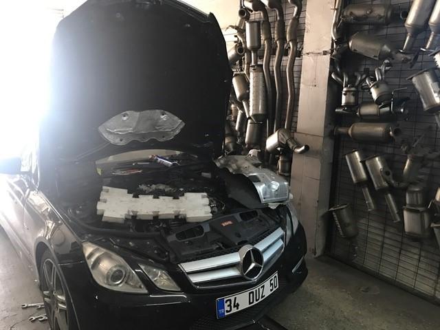 Mercedes E350 Dizel Partikül Filtresi Değişimi