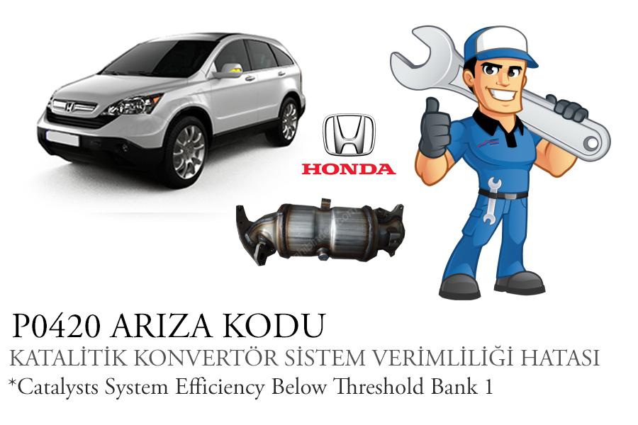 P0420 Arızası Honda CR-V 2.0i 2008-2015 Katalitik Konvertör Değişimi ve Faydaları