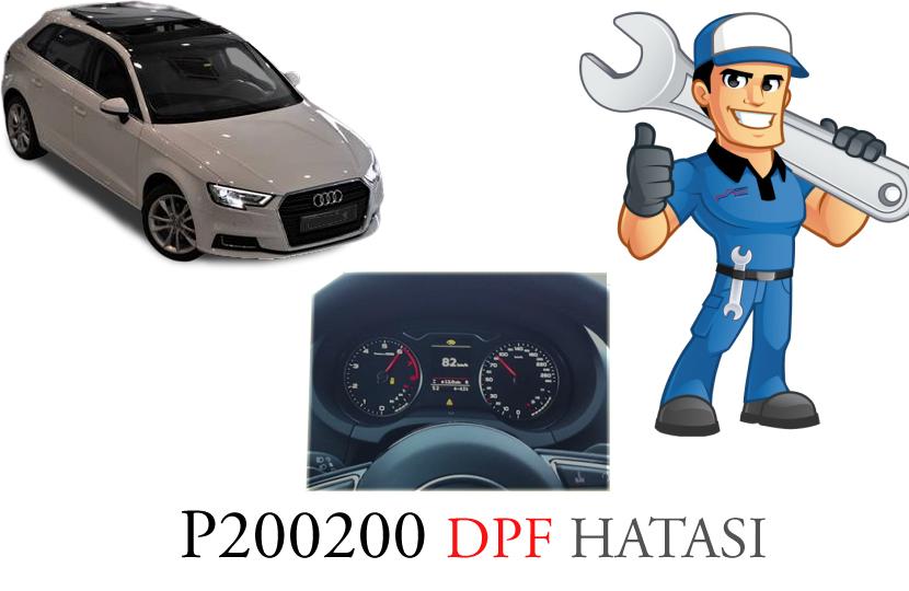 P200200 Dizel Partikül Filtre Hatası ve Onarımı Hakkında