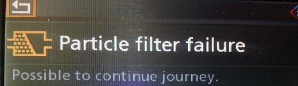 Particulate Filter Failure