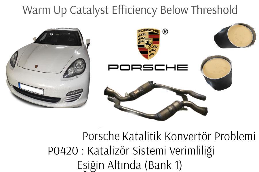 Porsche Motor Arıza Lambası Yaygın Nedenleri ?