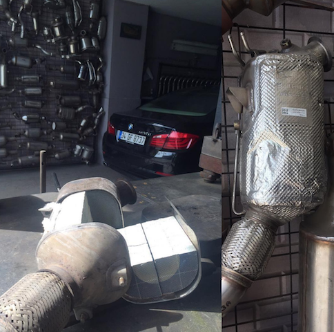 DPF Removal and Damage