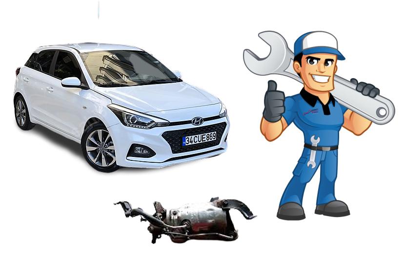 Hyundai i20 Dizel Partikül Filtre Onarımı